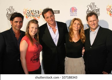 "Cast of ""Full House""  at the ""Comedy Central Roast of Bob Saget"". Warner Bros Studios, Hollywood, CA 08-03-08"
