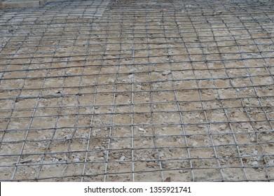 cast iron frame concrete floor