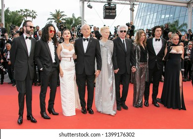 "cast members attend the opening ceremony and screening of ""The Dead Don't Die"" during the 72nd annual Cannes Film Festival on May 14, 2019 in Cannes, France."