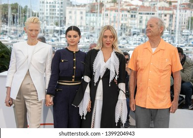 """Cast members attend the photocall for """"The Dead Don't Die"""" during the 72nd annual Cannes Film Festival on May 15, 2019 in Cannes, France."""