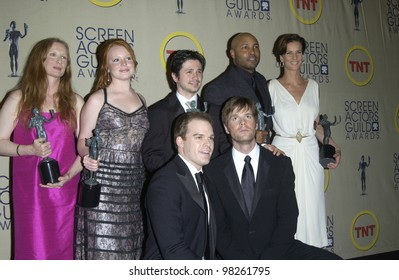 Cast Of Six Feet Under At The 9th Annual Screen Actors Guild Awards In Los Angeles