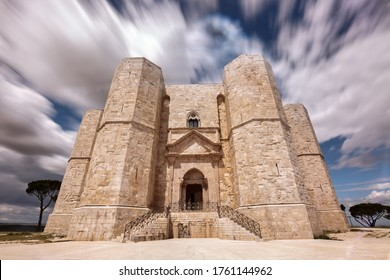 Castel del Monte is a 13th-century citadel and castle situated on a hill in Andria in the Apulia region of southeast Italy. It was built during the 1240s by the Emperor Frederick II