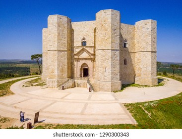 Castel del Monte, famous medieval fortress in Apulia, southern Italy.