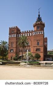 Castel dels Tres Dragons in Parc de la Ciutadella. Barcelona