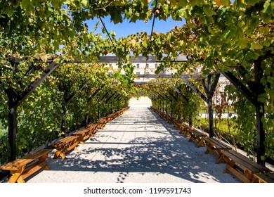Castel Mimi Wine Resort at day, BULBOACA, MOLDOVA. 05-10-2018