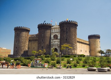 Castel Nuovo (New Castle), also called Maschio Angioino, medieval castle in Naples, Italy