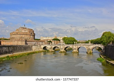Castel Sant'Angelo and pont Sant' Angelo