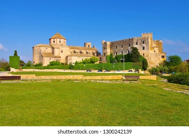 Castell d Altafulla near Tarragona, Costa Dorada, Catalonia in Spain