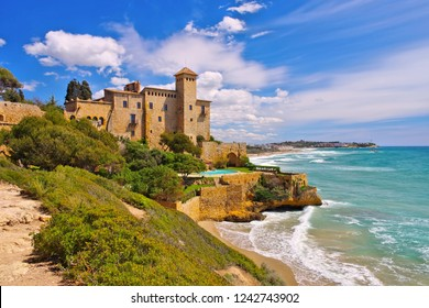 Castell de Tamarit near Tarragona, Costa Dorada, Catalonia in Spain