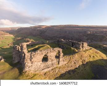 Castell Dinas Bran (Dinas Bran Castle), Langollen, Wales