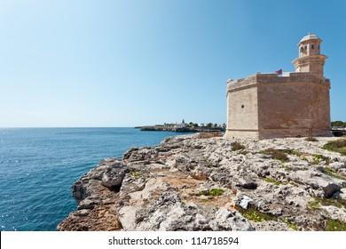 Castell at the Harbor of Ciutadella - Minorca