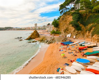 Castell Plaja at Sa Caleta beach in Costa Brava