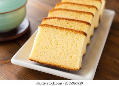 Castella, Japanese Kasutera sponge cake
