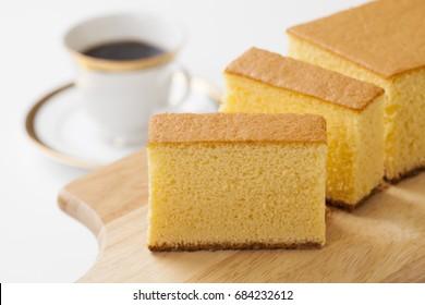 Castella ; Japanese sponge cake