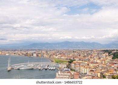 Castellammare di Stabia comune in the Metropolitan City of Naples cityscape