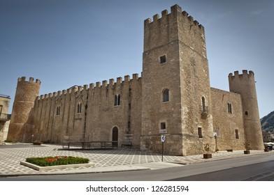 Castello dei Conti di Modica in Alcamo, Sicily.
