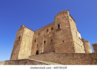 Castello di Castelbuono (Castlelbuono Castle), also known as Castello dei Ventimiglia (Ventimiglia Castle). Palermo surroundings, Sicily, Italy