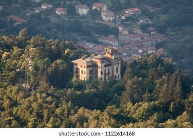Castello di Croce Serra Andrate Piemonte Italy