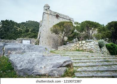 Castello Doria in Porto Venere, Liguria, Italy