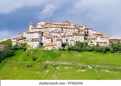 Castelluccio of Norcia Umbria Italy