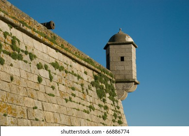 Castelo do Queijo or Castle of the Cheese or Forte de S�£o Francisco Xavier in Porto, Portugal