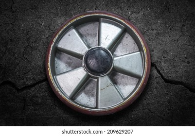 Caster wheels Used in industrial