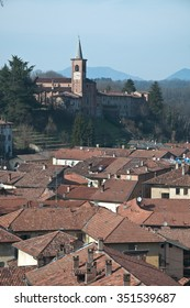 Castiglione Olona - View of the historic town,varese,italy,medioval