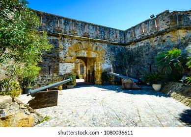 Castillo de la Duquesa, Manilva, Costa del Sol Occidental, Malaga, Andalusia, Spain, Iberian Peninsula