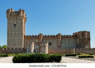 Castillo de la Mota, in Medina del Campo, Spain.