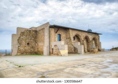 Castillo de la Suda near La Seu Vella cathedral at Lleida, Spain
