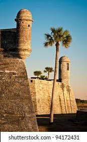 Castillo de San Marcos National Monument in St. Augustine, Florida