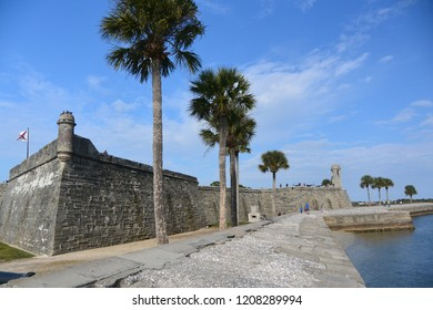 Castillo de San Marcos is the oldest masonry fort in the continental United States located in St Augustine, Florida
