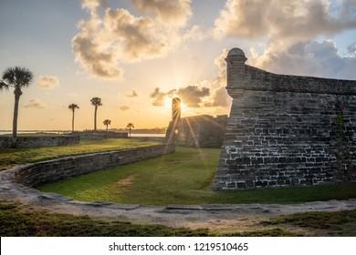 Castillo de San Marcos St. Augustine Florida