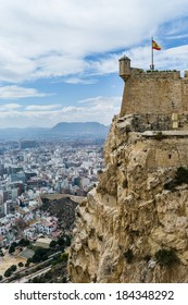 Castillo de Santa Barbara, Alicante Spain