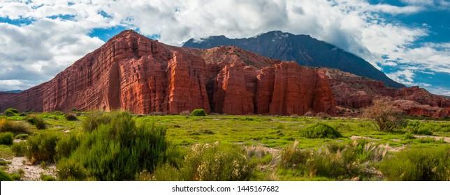 Castillo Quebrada de las Conchas, Cafayate province of Salta -  Argentina