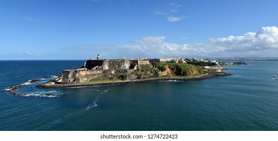 Castillo San Felipe del Morro San Juan Puerto Rico, major landmark and tourist attraction