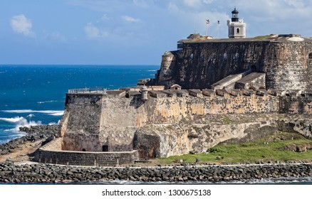 Castillo San Felipe del Morro on the island of San Juan, Puerto Rico