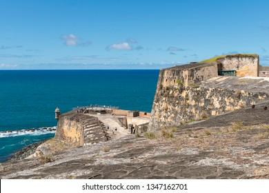 Castillo San Felipe del Morro San Juan, Puerto Rico