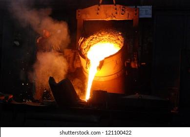 Casting of iron