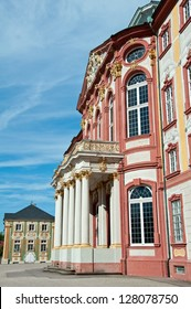 The castle is a 18th century residence of the ruling bishop of the region (Speyer), rebuild after the second world war