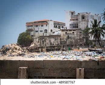 Castle in Accra, Ghana