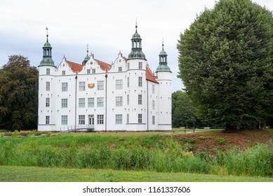 Castle of Ahrensburg, Schleswig-Holstein, Germany