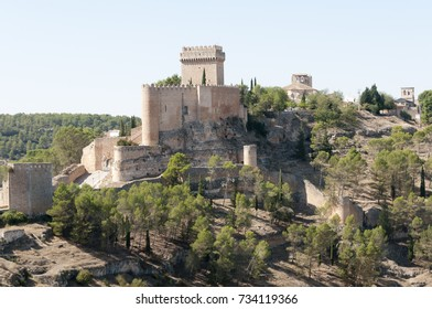 Castle of Alarcon in Cuenca, Castilla la Mancha, Spain