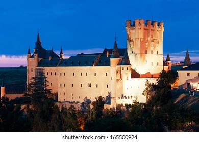 Castle Alcazar of Segovia, Castilla and Leon, Spain