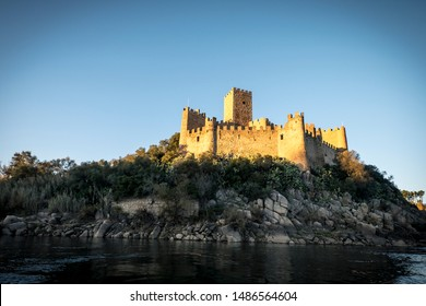 Castle of Almourol (Castelo de Almourol) is a medieval castle atop the islet of Almourol in the middle of the Tagus River in Portugal.