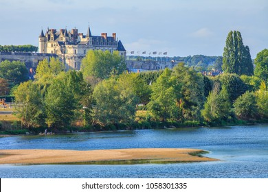 The castle of Amboise, castle of the Loire, France