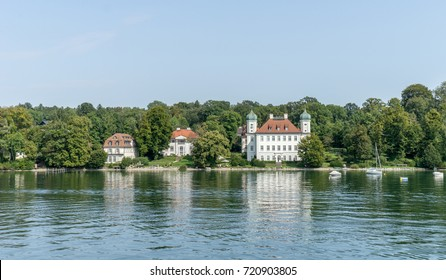 Castle Ammerland at  Lake Starnberg in Bavaria, Germany