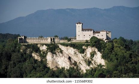 Castle of Angera on Lake Maggiore