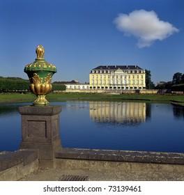 Castle Augustusburg in Bruhl (Brühl) near Cologne, Germany, UNESCO World Heritage Site