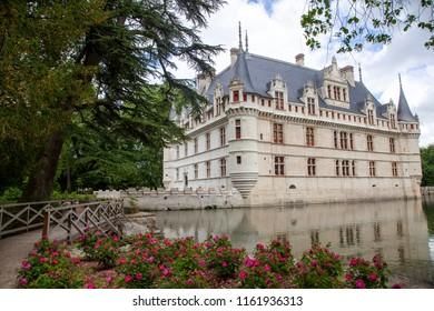 Castle of Azay-le-Rideau, Loire Valley, France